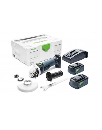 Akumulatorowa szlifierka kątowa AGC 18-125 Li 5.2 EB-Plus