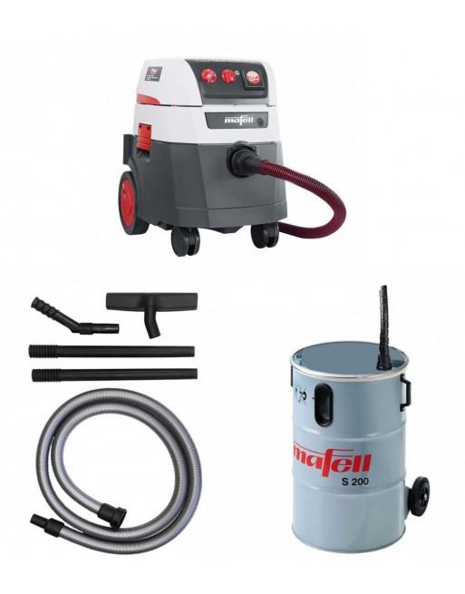 Odkurzacz przemysłowy S 35 M + Pojemnik S200 + Zestaw do czyszczenia