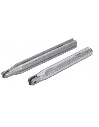 Zestaw dwóch noży tnących Ø 6 i Ø 10 mm SILVER