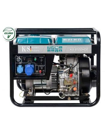 Agregat prądotwórczy KS 8100HDE EURO V