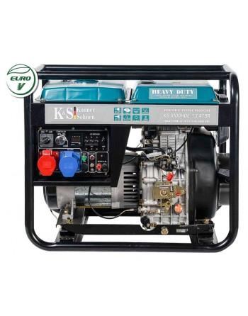 Agregat prądotwórczy KS 9100HDE-1/3 ATSR EURO V