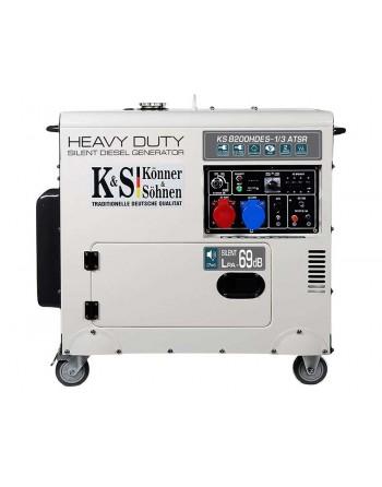Agregat prądotwórczy  KS 8200HDES-1/3 ATSR