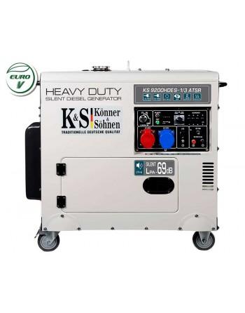 Agregat prądotwórczy KS 9200HDES-1/3 ATSR EURO V