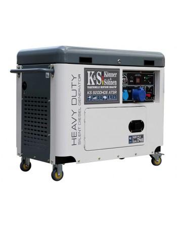 Agregat prądotwórczy KS 9200HDE ATSR EURO V