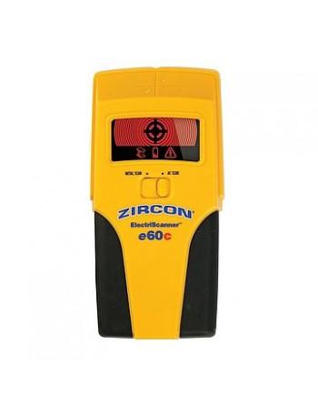 Wykrywacz metalu Zircon E60C (metale żelazne/nieżelazne, przewody elektryczne pod napięciem)