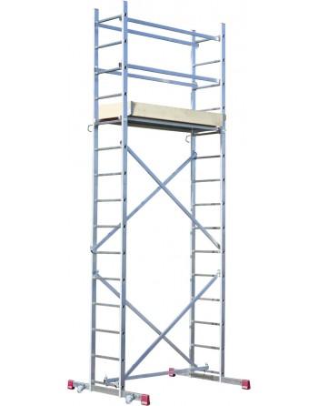 Rusztowanie montażowe (pakiet A+B) wysokość robocza 5,00 m