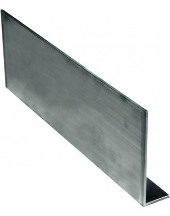 Aluminiowa listwa przypodłogowa Ø 100x30x6000 mm