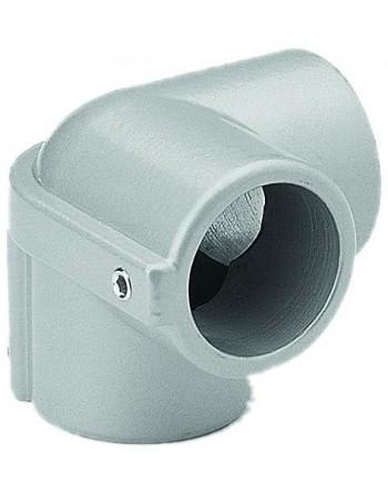 Łącznik kątowy 90° Ø 40 mm zamknięty , Stal nierdzewna