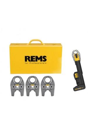 REMS Mini-Press S 22 V ACC Basic-Pack BP Gratis (3 Cęgi zaciskowe)