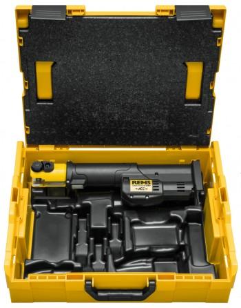 REMS Mini-Press S 22 V ACC Basic-Pack/P L-Boxx (Bez Akumulatora i urządzenia szybkoładującego)