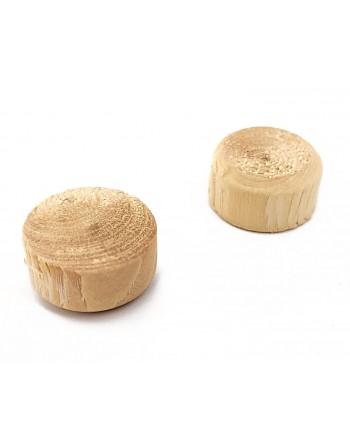 Fleki gałęziowe, sęki świerk ∅15 mm, 1000 sztuk