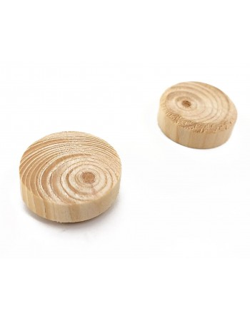 Fleki gałęziowe, sęki świerk ∅20 mm, 1000 sztuk