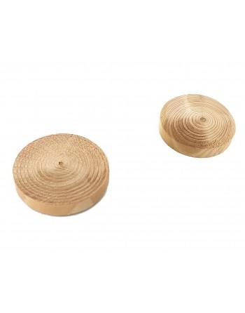 Fleki gałęziowe, sęki świerk ∅30 mm, 1000 sztuk