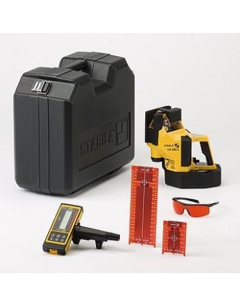 Laser wieloliniowy Stabila LA 180 L + REC 410 Line RF zestaw 6-częściowy