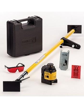 Laser wieloliniowy Stabila LAX 400 + LT 30 zestaw 6-częściowy