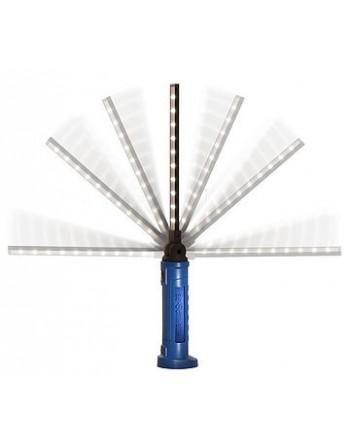 Lampa LED akku 10+1, 3W, 260-300 lum 6400K, czas pracy 2,5-3h, czas ładowania 2,5 h