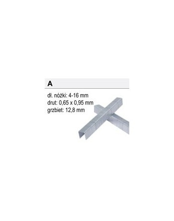 Zszywki Typ A-10, 24000 sztuk