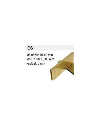 Zszywki Typ ES-25, 4800 sztuk