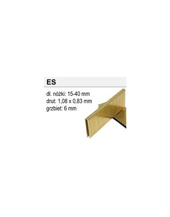 Zszywki Typ ES-40, 3200 sztuk
