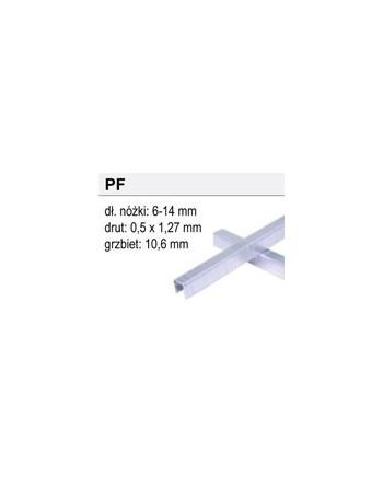 Zszywki Typ PF-09, 7392 sztuk
