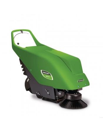 KM 650 E – Kompaktowa i bardzo cicha zamiatarka do małych i średnich powierzchni wewnętrznych i zewnętrznych.