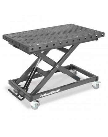MAT 300 SH – Stół montażowo-spawalniczy z hydrauliczną regulacją wysokości.