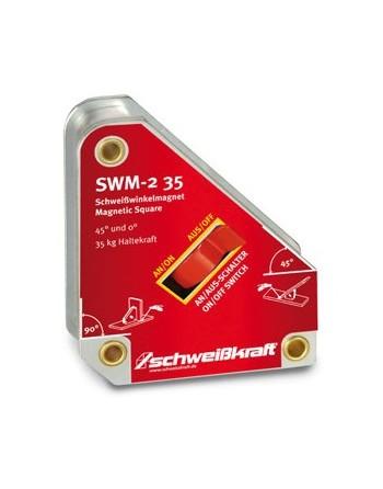 SWM-2 35 - magnetyczny kątownik spawalniczy
