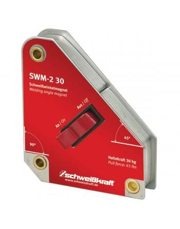 SWM-2 30 - przełączany elektromagnes kątownika spawalniczego