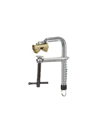 MSZ 90- Magnetyczny ścisk śrubowy z szybkozłączką sprężynową i magnetycznym mocowaniem typu V-clamp