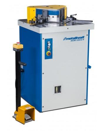 Hydrauliczna przycinarka AKM 220-6 H do szybkiego, prostokątnego nacinania blachy