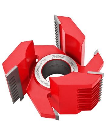 Frez HM nasadzany nastawny do złącz wieloklinowych 0140x40x35-100/3z k 5-15