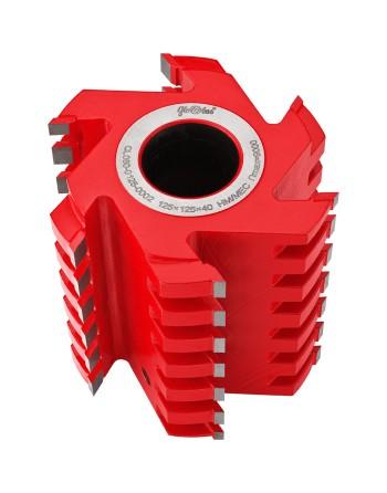 Frez HM nasadzany z dzieloną krawędzią skrawającą 0125x40x100/3+3z