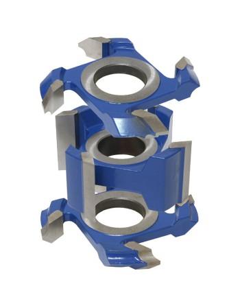 Zestaw frezów HSS do zaokrągleń i fazowania 0134x40x26-60/4z ZZF.02