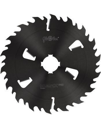 MULTIX PRO Twin 0500x70x6,0/4,1/18+6z 2GS 4(20x6) - piła/tarcza z HM do cięcia drewna świeżego na wielopiłach i trakach tarczowy