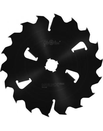 MULTIX PRO Plus 0500x70x6,0/4,5/18+6z 2GS 4(21x6) - piła/tarcza z HM do cięcia drewna świeżego na wielopiłach z dużym posuwem