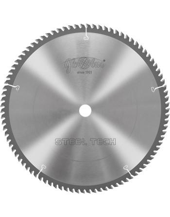STEEL-TECH 0305x25,4x2,5/2,0/80z GC10 - piła/tarcza z płytkami HM do cięcia kształtowników stalowych na ukośnicach