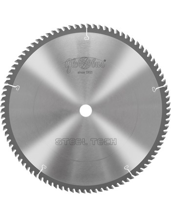 STEEL-TECH 0305x30x2,5/2,0/80z GC10 - piła/tarcza z płytkami HM do cięcia kształtowników stalowych na ukośnicach