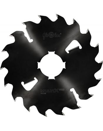 MULTIX PRO Plus 0450x60x4,6/3,2/18+4z GM 4(20x6) - piła/tarcza z HM do cięcia drewna świeżego na wielopiłach z dużym posuwem