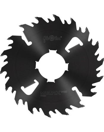 MULTIX PRO Twin 0400x70x4,4/3,0/18+4z 2GS 4(20x6) - piła/tarcza z HM do cięcia drewna świeżego na wielopiłach i trakach tarczowy