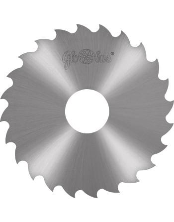 Frez HSS wg. DIN B i Bw 0160,0x32,0x6,00/48z d1 63,00 - tarcza ze stali szybkotnącej do wolnoobrotoweego cięcia stali i metali k