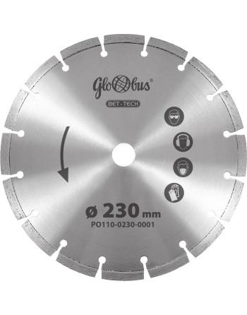 Tarcza diamentowa BET-TECH 0230x22,23 do pilarek szybkoobrotowych (m.in. kątówek)