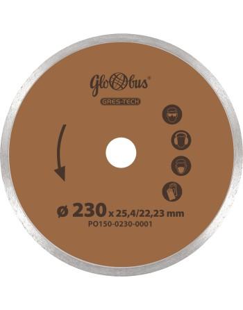 Tarcza diamentowa GRES-TECH 0230x22,23 do pilarek szybkoobrotowych (m.in. kątówek)