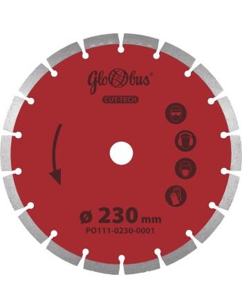 Tarcza diamentowa CUT-TECH 0230x22,23 do pilarek szybkoobrotowych (m.in. kątówek)