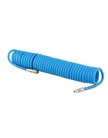 Wąż spiralny PU 12 x 8 mm...