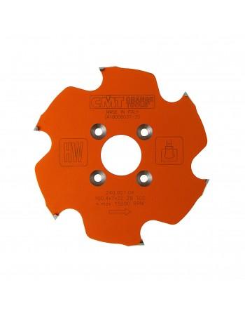 240.001.04 Frez HM D 100,4 F 22 Z6 K 7,0/4,0 Z6 Powłoka PTFE do CNC Lamello P-system