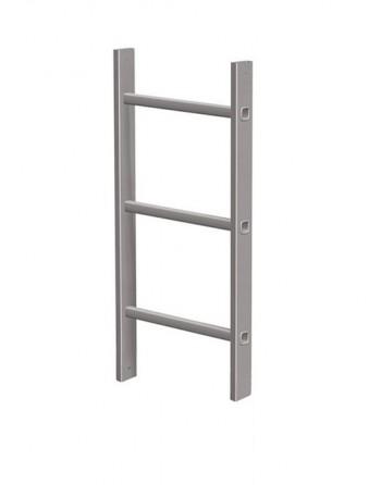 Element drabiny pionowej aluminium - 0.84 m