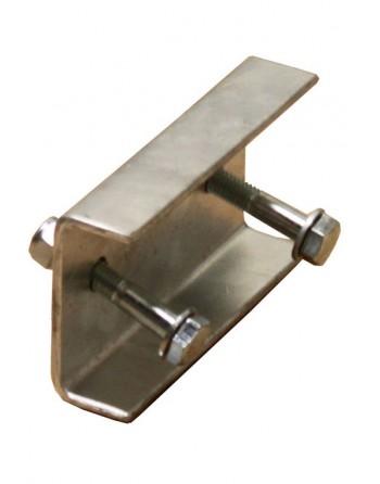 Łącznik do drabin pionowych aluminium - 100 mm