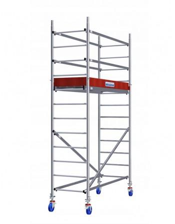 Aluminiowe rusztowanie jezdne ProTec - wys. robocza 4.30 m