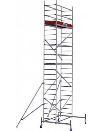 Aluminiowe rusztowanie jezdne ProTec - wys. robocza 7.30 m