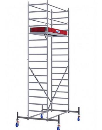 Rusztowanie jezdne Seria 10 - 2.0 x 0.75 m wys. robocza 5.40 m